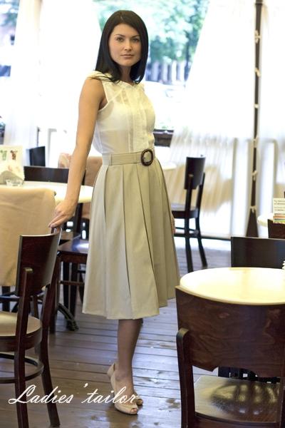Описание: Для женщин. юбка в складку фото Одежда.