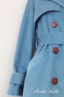 Обработка жилета из шелка.