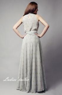 Платье с принтом.