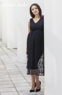 Вечернее платье для беременной.