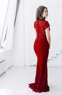 Красное свадебное платье для второго дня свадьбы.
